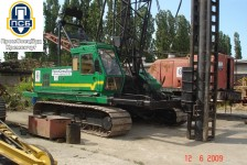 Сваебойный агрегат на базе Хитачи 125, организация ДП Промспецбуд, Кузик Виктор Федорович