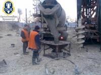 Бетонирование буронабивной сваи через бетонолитную трубу, промспецбуд, кузик виктор