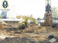 Бурим скважины под буронабивные сваи, организация ДП Промспецбуд, Кузик Виктор Федорович