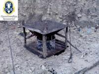 Прием бетона через бетонолитную трубу, организация ДП Промспецбуд, Кузик Виктор Федорович